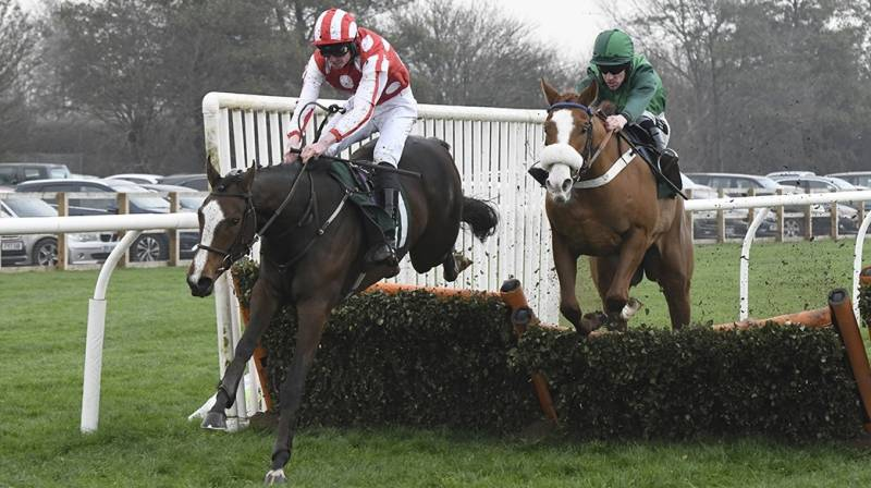 Travel Lightly draws clear from the last to win at Catterick